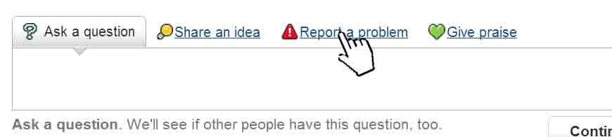reportproblem